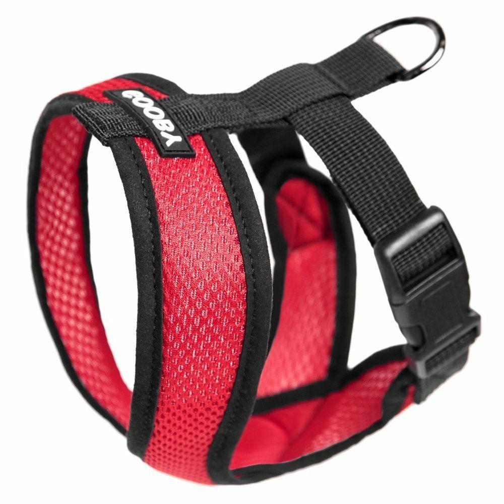 Gooby Fully adjustable Choke Free Comfort X Soft Harness, Re