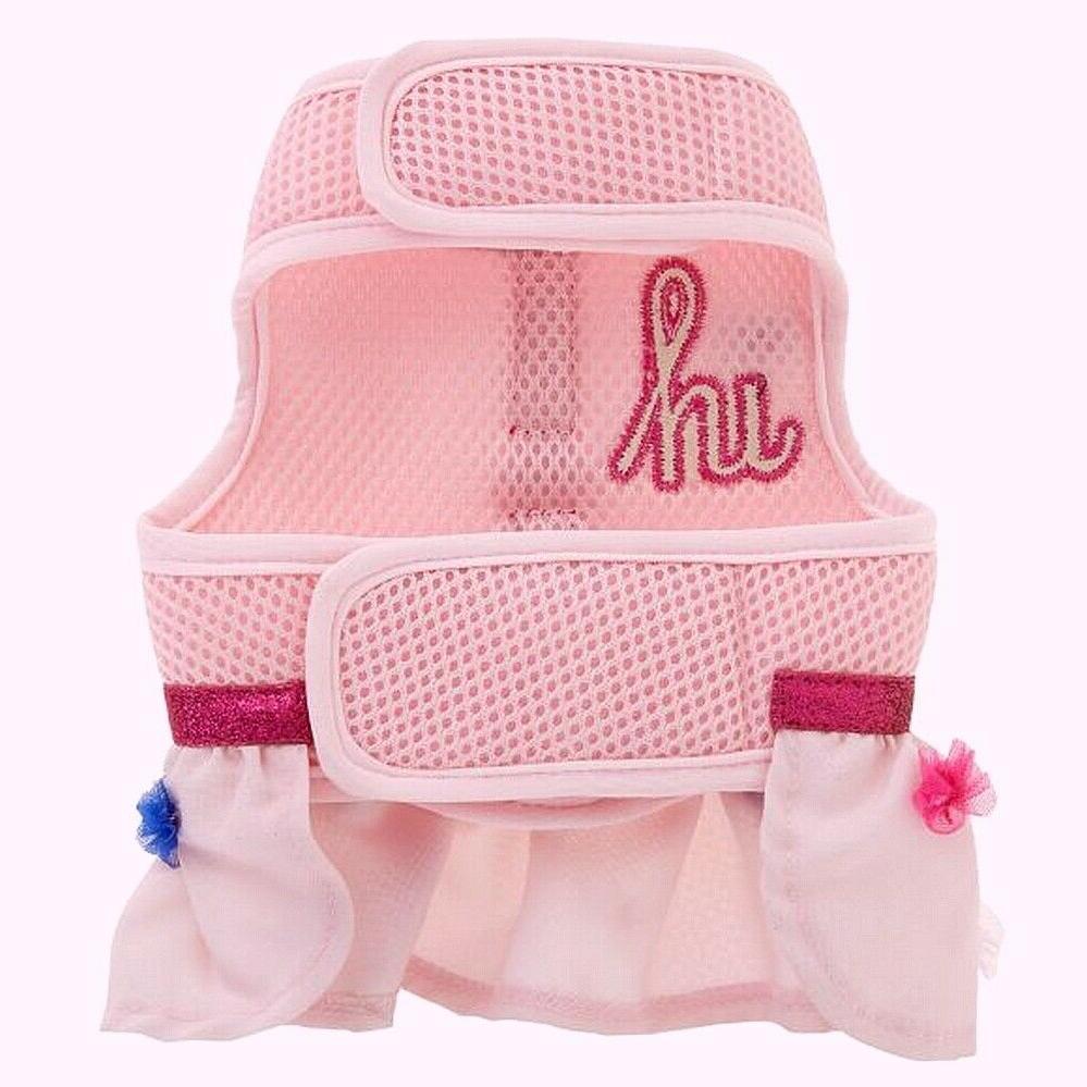 "Top Paw Baby Soft Mesh Harness ""Hi"" Dog Skirt Dress"