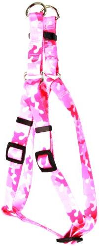 Yellow Dog Design Step-In Harness, Medium, Camo Pink
