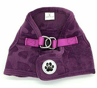Lanyar Fleece Soft Vest Harness No Pull Harness for