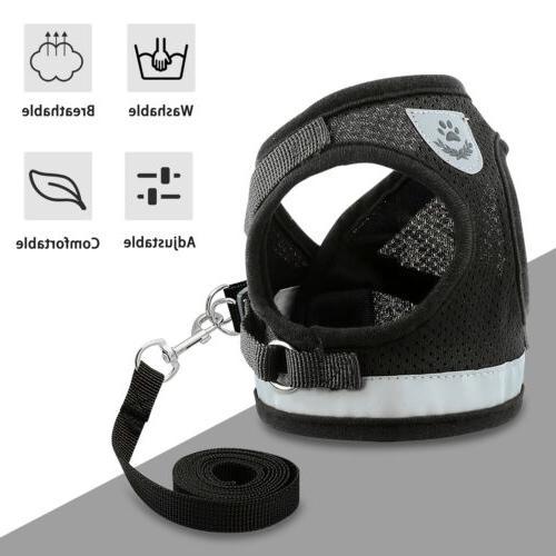 Leash + Dog Breathable Vest Strap S