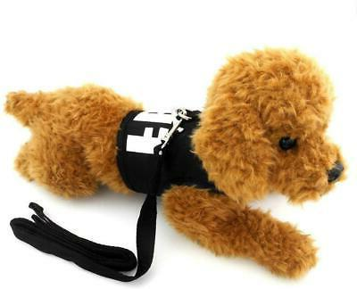 SMALLLEE_Lucky_Store Pet Clothes for Small Dog Cat FBI Vest