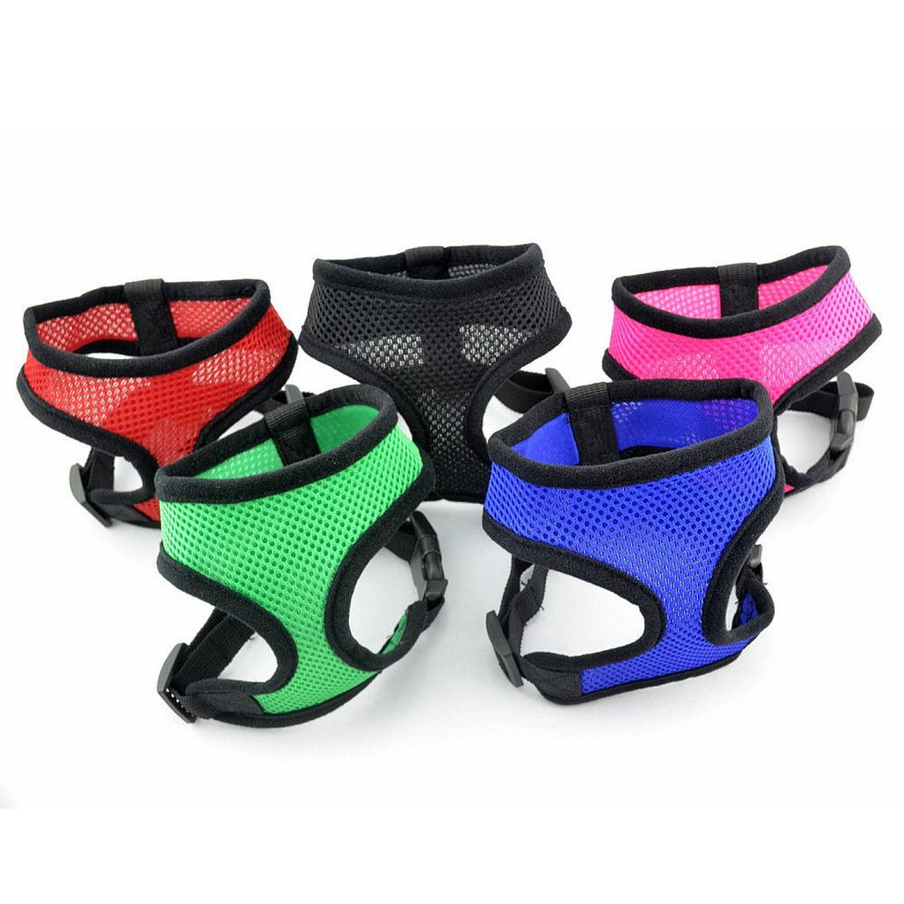 Mesh Harness Pet for Cat Soft Collar Safety Strap Vest Puppy