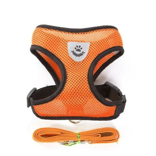 Mesh Pet Harness Comfortable Many M L