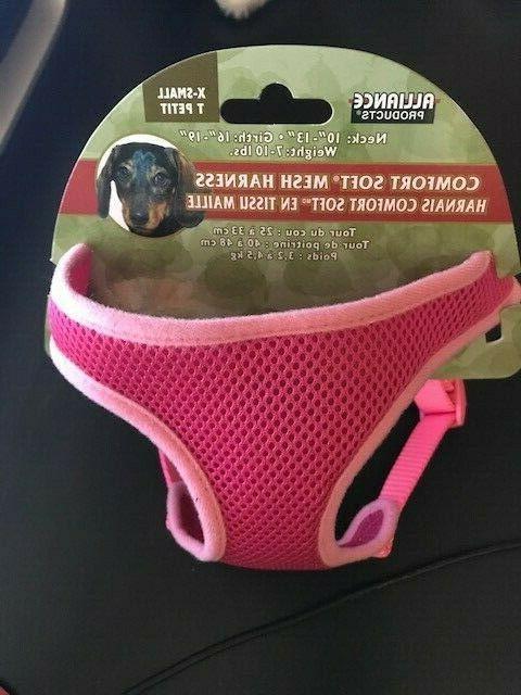 new comfort double mesh pet harness 16