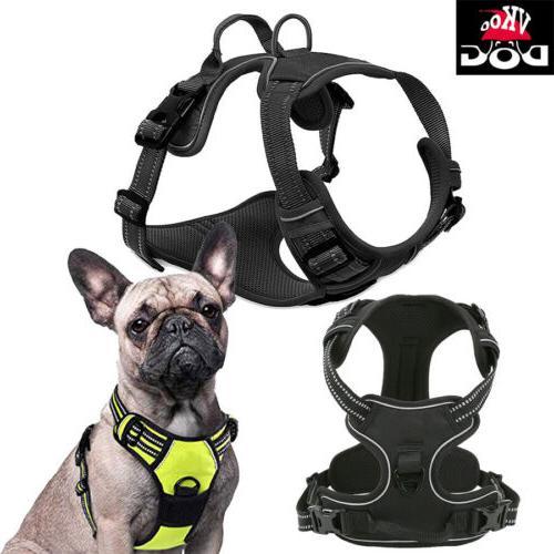 no pull adj pet dog harness reflective