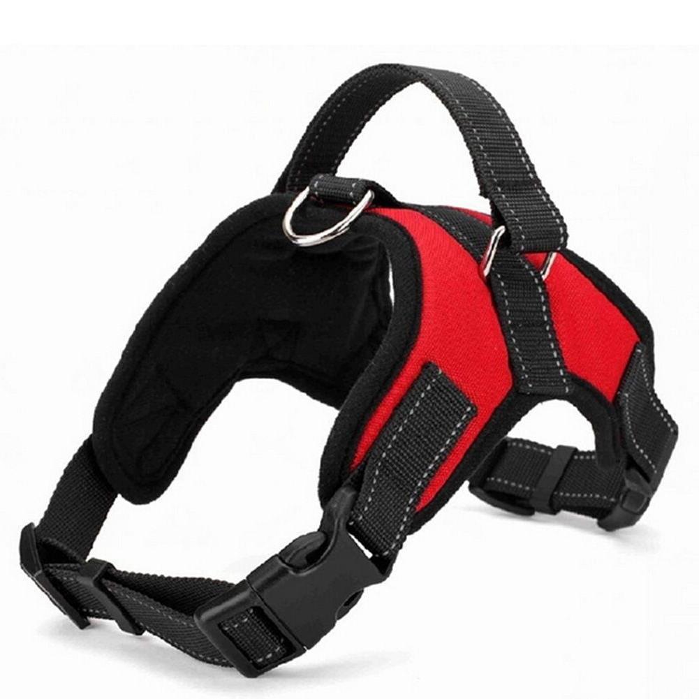Dog Vest Harness Leash Collar No Adjustable for