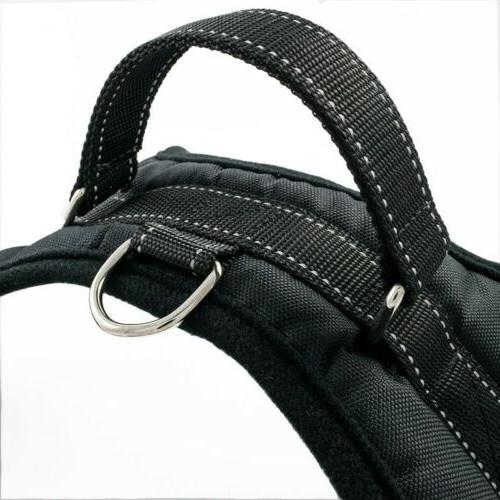 Pull Reflective Nylon Walk Collar Handle