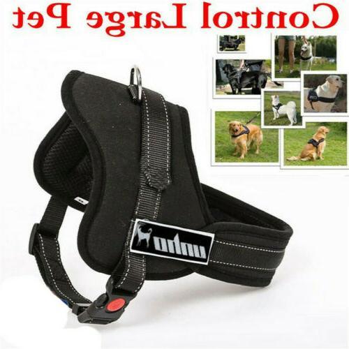 No Adjustable Dog Vest Quality Nylon XL