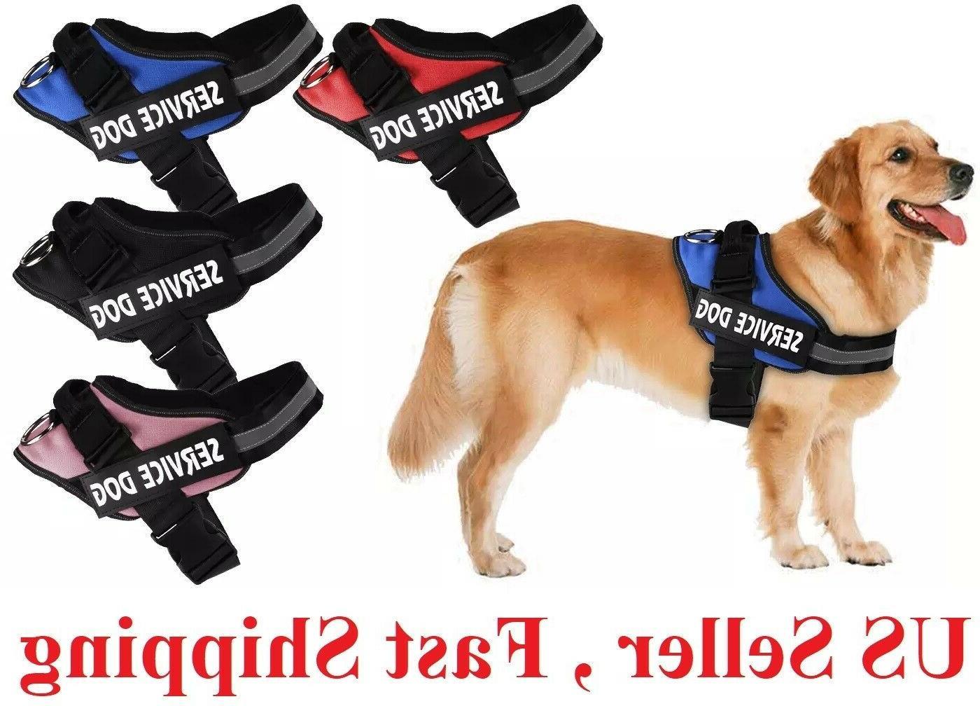 no pull service dog pet harness adjustable
