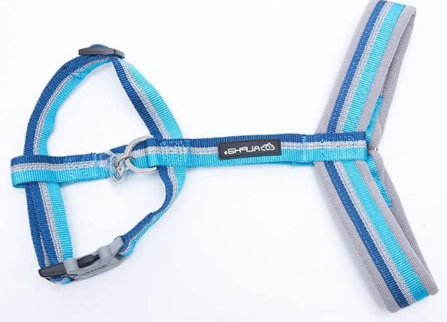 Nylon Dog Halter Harnesses,Durable Reflective Webbing, HAM