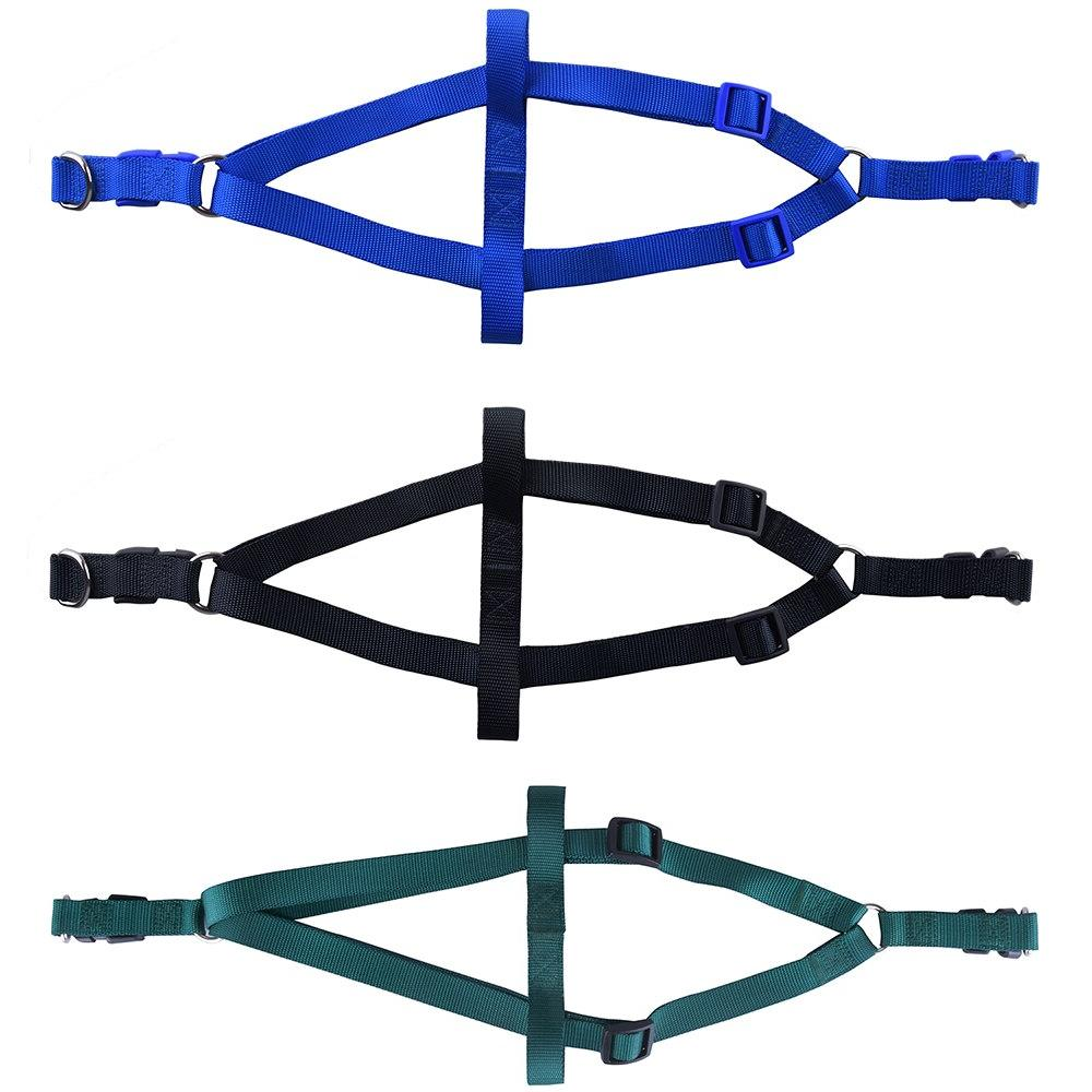 Nylon Pet <font><b>Harness</b></font> Leash Vest Leash Strap Small and