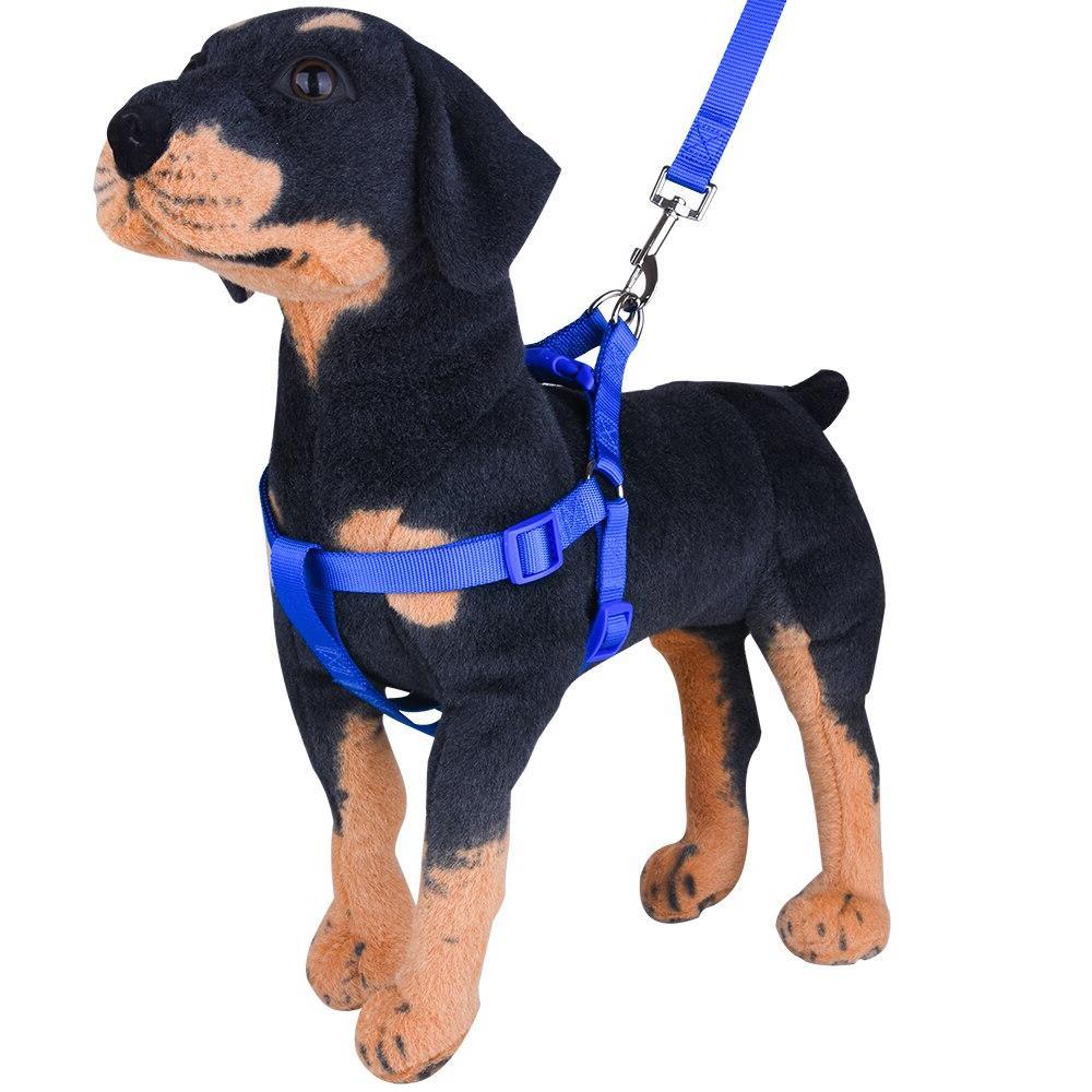 Nylon Pet Dog No Pull Leash Vest Running Leash Belt Small and Medium
