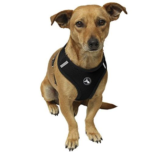 OxGord Pet Control Harness - Vehicle Safety Strap Vest - Large