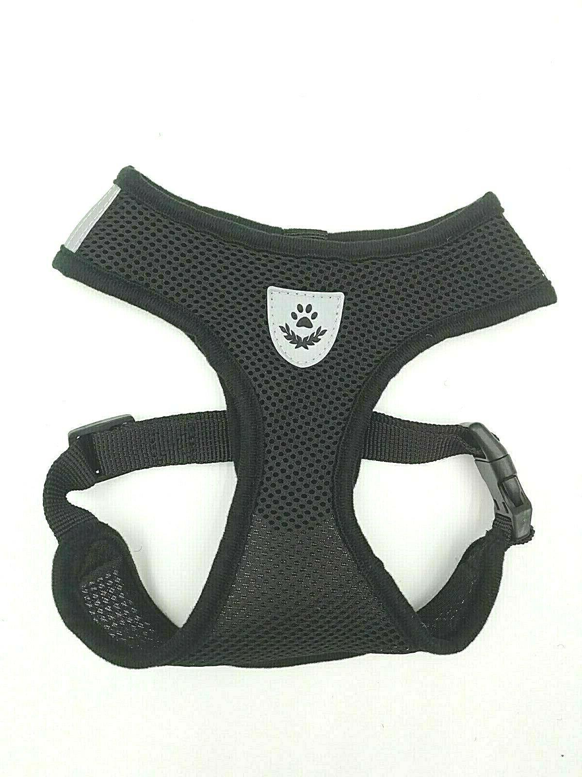 Pet Control SMALL Dog Harness Soft DOUBLE Walk Collar Vest