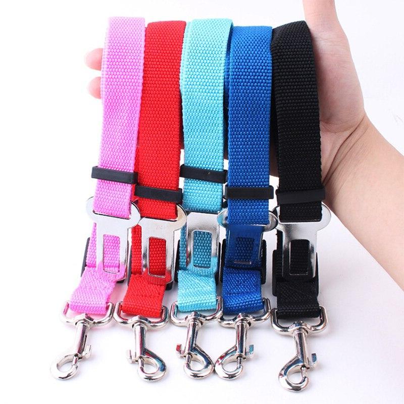 Pet Seat <font><b>Adjustable</b></font> <font><b>Harness</b></font> Seatbelt Small Medium Clip Pet Supplies Color