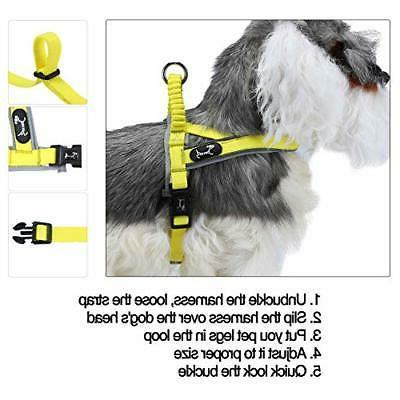 Reflective Harness Dog