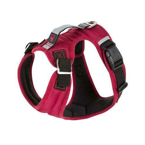 GOOBY Pioneer Dog for Breed M L or Matching Leash Red