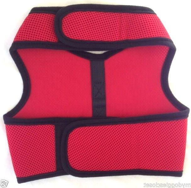 Red Dog Harness Wrap 2 Closure Choke