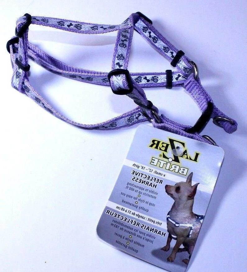 reflective dog harness x small 12 18