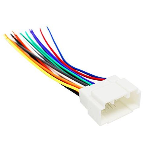 replacement radio wiring harness