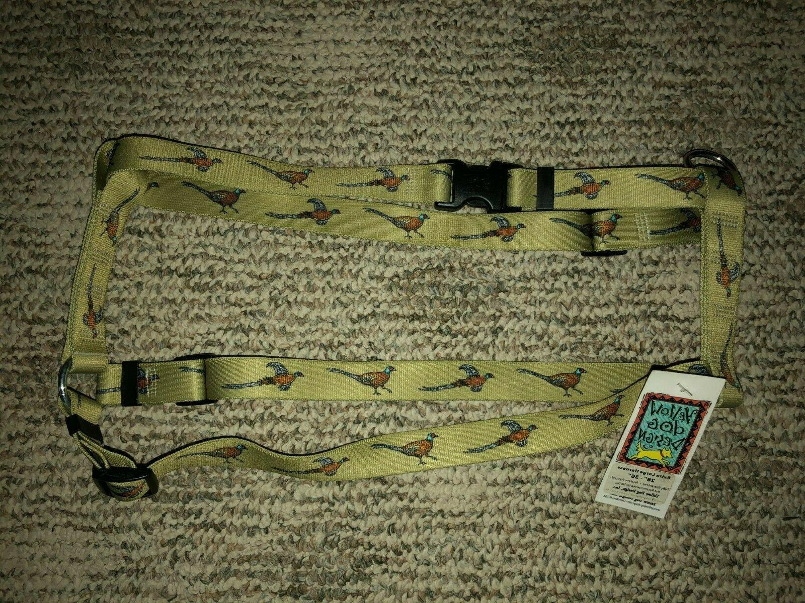 roman harness xl 28 36 green w