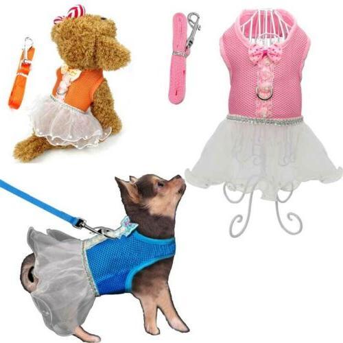 S/M/L Puppy Vest Strap Cute Clothes Cat