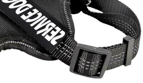 Service No-Pull Reflective Walking Vest