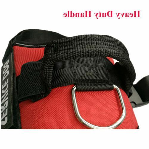 Service Dog Vest Harness Adjustable Patches Large