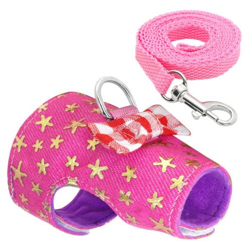 Small Animal Harness with Leash Hamster Pet Clothes
