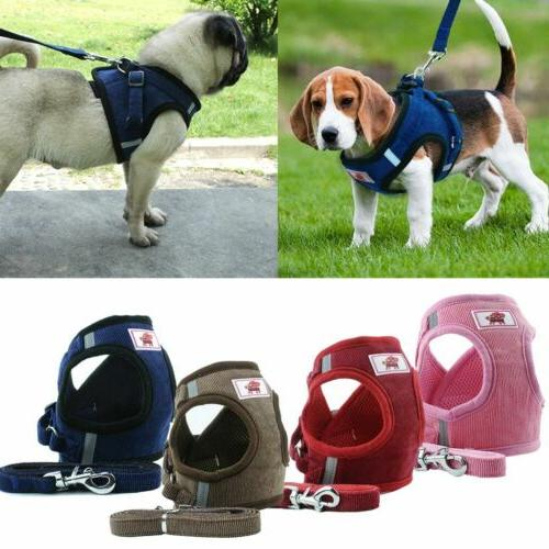 Pet Control SMALL Dog Harness Soft Mesh Walk Collar Safety S