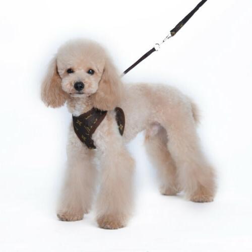 Cowboy Breathable Vest Harness Set Puppy Rabbit Cat