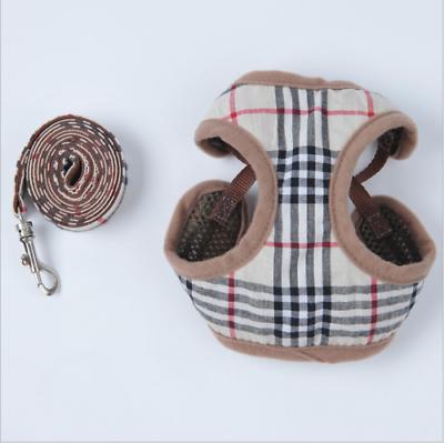 Soft Breathable Pet Dog Vest Harness Set Cat