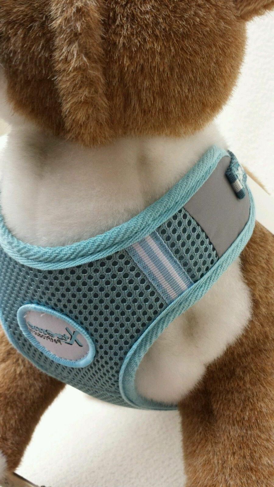Xtreme PET SOFT MESH DOG HARNESS L BLUE