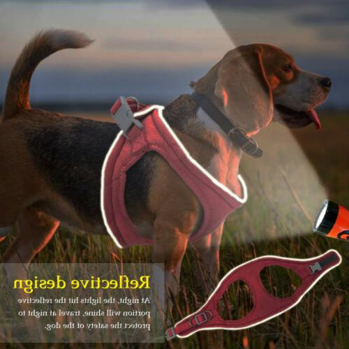 Dogs Harness Reflective Padded Small Cat Vest For US