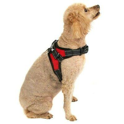 No Adjustable Dog Pet Vest Harness Nylon M L XXL Larg