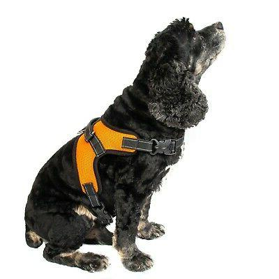 No Pull Pet Harness Quality Nylon L Larg
