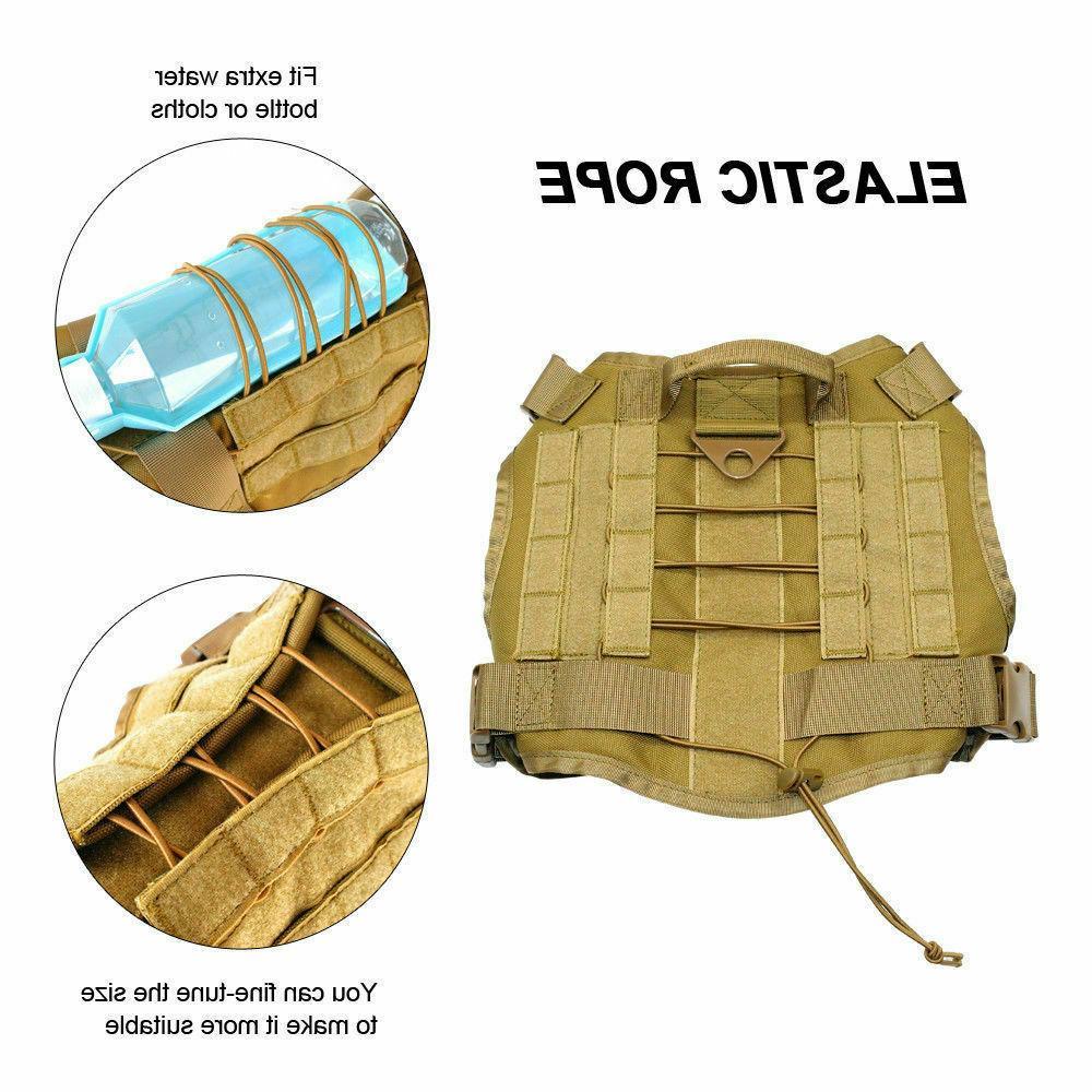 Tactical Nylon Vest+Leash