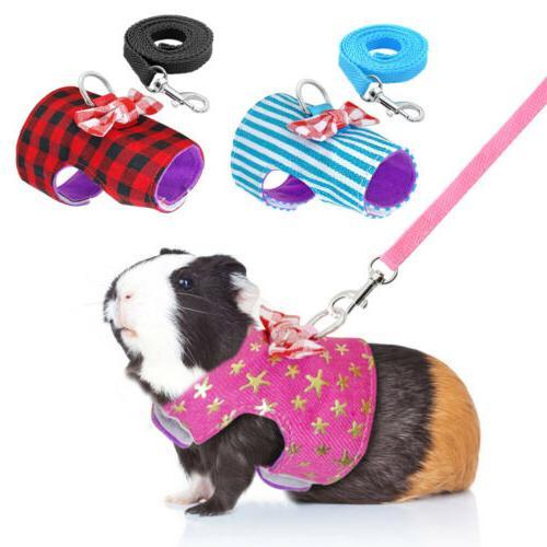top small animal harness leash guinea pig
