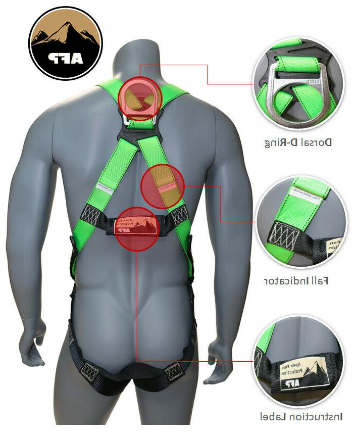 AFP Full-Body Safety Harness with and