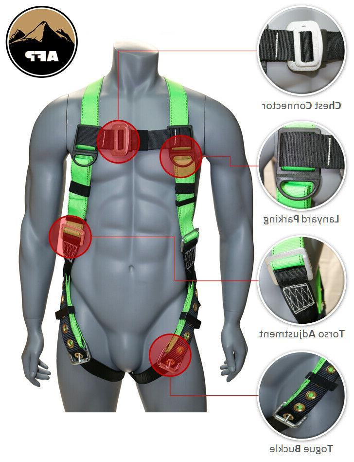 AFP Universal Full-Body Safety Harness and Buckle