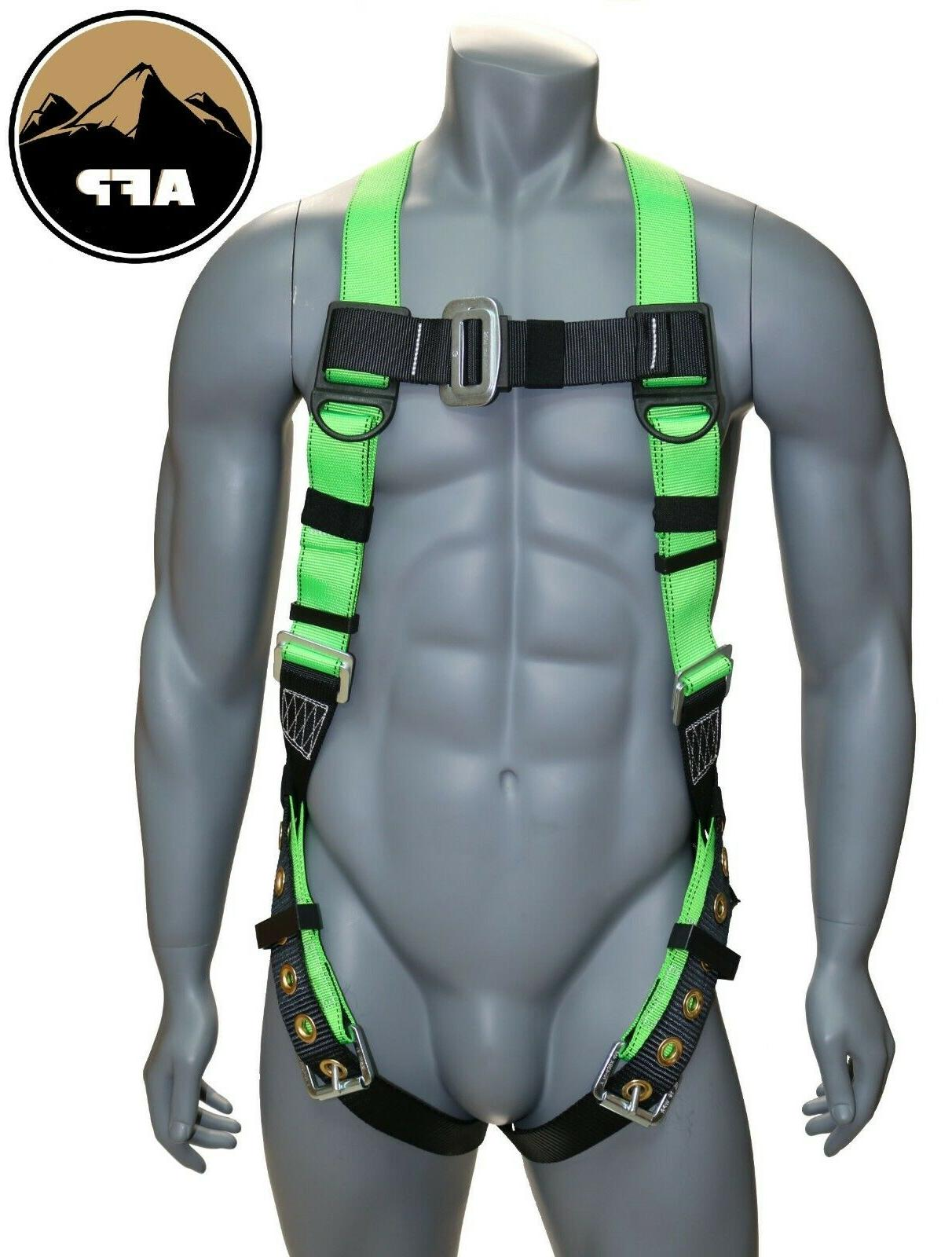 universal full body safety harness with dorsal