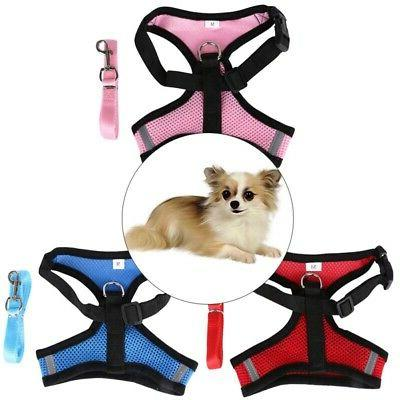 US Breathable Puppy Adjustable Leash 3 Sizes