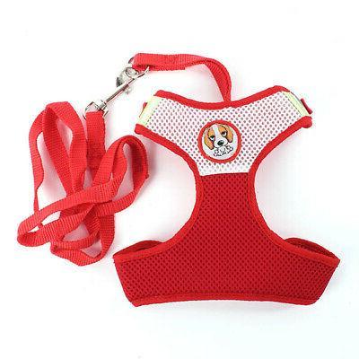 Pets Dog Puppy Color Mesh Halter Soft Vest Strap