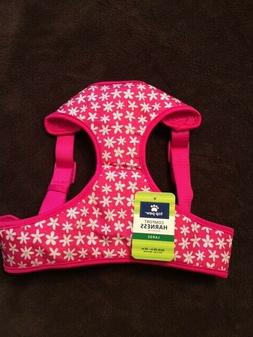 Top Paw Nylon Comfort Dog Harness--Large--Pink Daisy--NWOT-