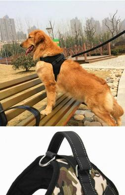 Large Pet Collar Dog Soft Adjustable Harness Pet Walk Out Ha