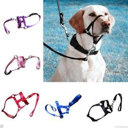 Large Pet Dog Head Collar Training Dog Halter Harness Gentle