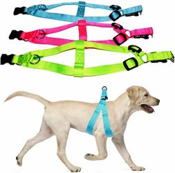 LED Lighted Dog Harness Bright Adjustable and Highly Visible