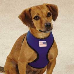 Casual Canine LIghtweight Neoprene Harness Waterproof Blue X