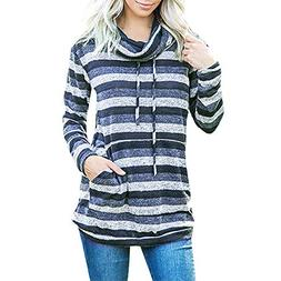 Londony ♥‿♥ Clearance Sales,Tops for Women's Cowl Neck